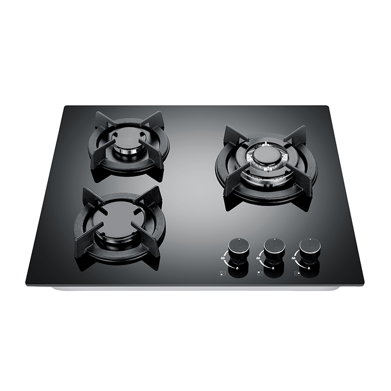 Kingbright Three Burner Hob Glass 600mm KQ3-GS01
