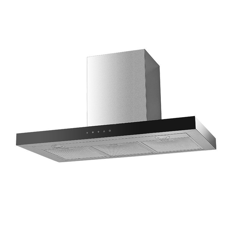 Kingbright T-shape Hood Inox 900mm T22