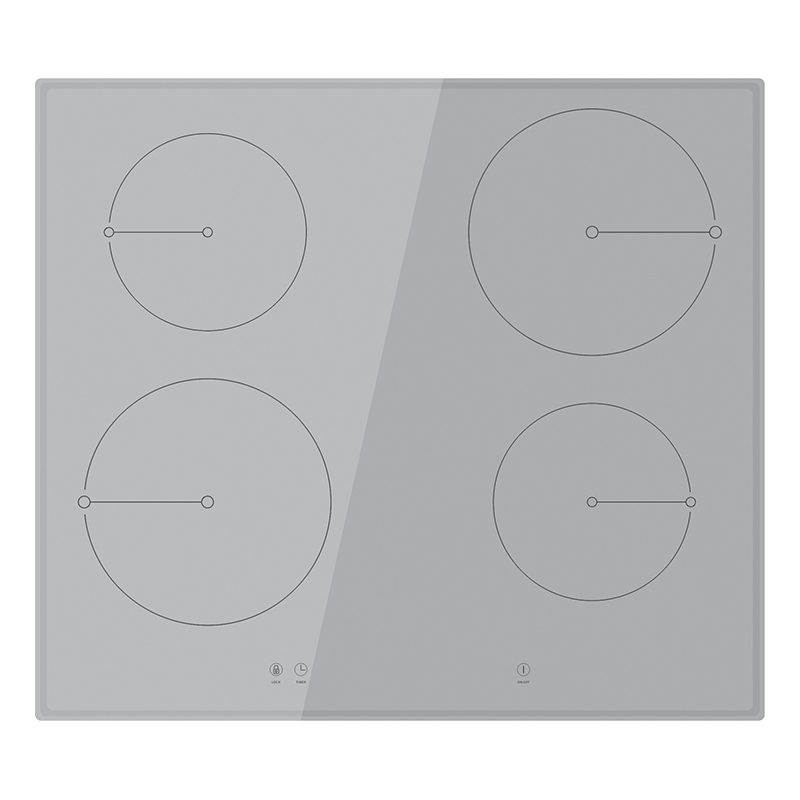 Kingbright Induction Hob Silver 600mm KD4-II01(S)